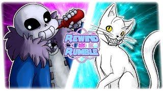 TOP 10 SANS BATTLES! (Undertale Sans vs The Judge?!?!) AnimationRewind