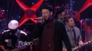 Justin Timberlake  Tko Live On Ellen 2013