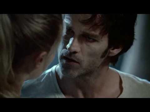 Sookie saves Bill in Season 1 Episode 1 of True Blood