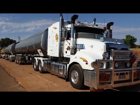 Caminhão Australiano I Road Train Vlog18rodas na Australia