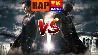 Rap do Batman Vs Superman // TK BATTLE - Feat Hericksom mc // TK RAPS