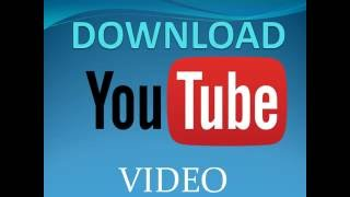 steps to download video from youtube