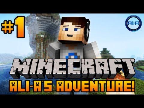 Minecraft - Ali-A's Adventure #1! -