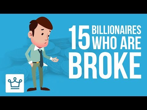 Xxx Mp4 15 Billionaires Who Are Now Broke 3gp Sex