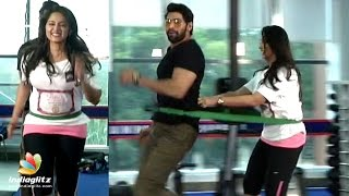 Rana Anushka Work out @ Gym