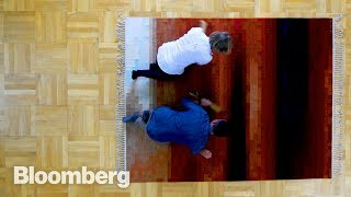 How a $40,000 Swedish Carpet Is Made