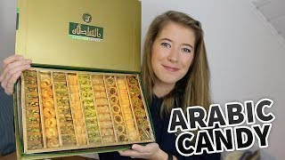 ARABIC CANDY & SNACKS TASTE TEST