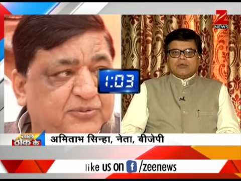 Taal Thok Ke: Naresh Agrawal says, 'Problems in Kashmir can't get solved until Mehbooba Mufti is CM'