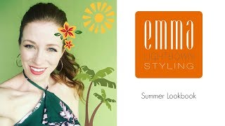 || Summer Lookbook || Emma Lightbown ||