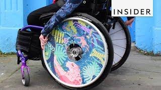 Artistic Wheelchairs Are Smashing Negative Stigmas