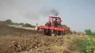 Massey tractor Ghulam Akbar driver 20017