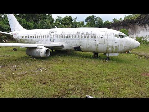 ABANDONED PLANE FOUND 737