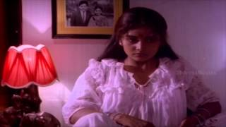 Aaghata Movie Scenes - Shruthi's husband explaining her mental condition to Girish Karnad