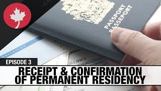 You submitted your passport - when will your Confirmation of Permanent Residence (COPR) be issued?