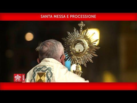Xxx Mp4 Papa Francesco Santa Messa E Processione 2018 06 03 3gp Sex