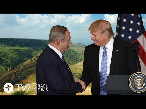 Xxx Mp4 U S Recognizes Israel 39 S Sovereignty Over Golan Heights TV7 Israel News 22 03 19 3gp Sex