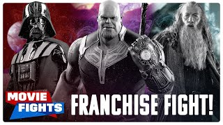 Star Wars vs Marvel vs Lord of the Rings!! (FRANCHISE FIGHTS!)