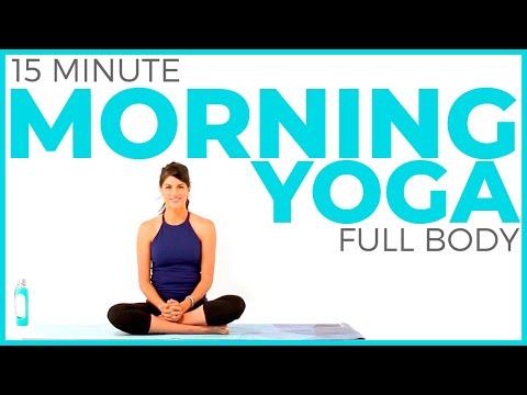 Xxx Mp4 15 Minute Morning Yoga Routine Full Body Yoga Flow 3gp Sex