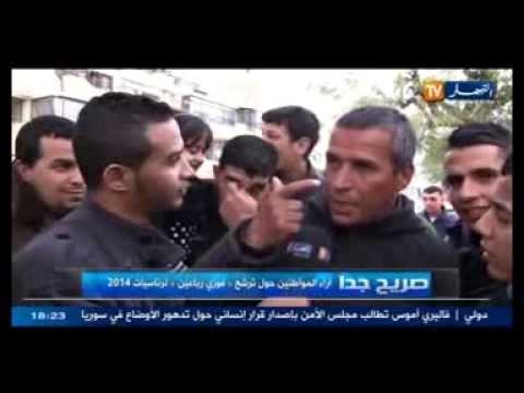 رأي سكان مدينة الشلف في مرشح الرئسيات الجزائر 2014 فوزي رباعين