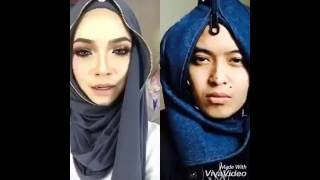 Parody Tudung Zip Nora Danish