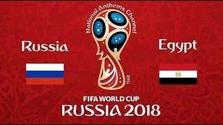 ملخص مباراة مصر وروسيا على ستاد سان بطرسبرج   مونديال روسيا2018
