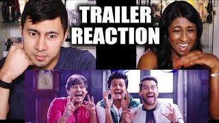 GREAT GRAND MASTI Trailer Reaction by Jaby &  Angela!