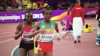 Hellen Obiri wins 5000m Women Final IAAF World Champs London 2017