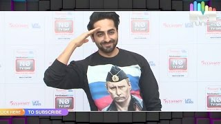 Ayushmann Khurrana spotted supporting