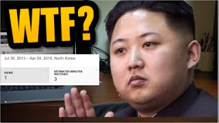KIM JONG-UN WATCHED MY YOUTUBE VIDEO!!