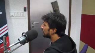 Kicha Sudeep singing in 93.5 redfmstudios(blore)