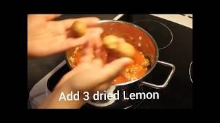 khoresht Gheymeh or gheimeh (meat & split yellow peas stew) خورش قیمه
