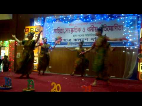 loknritto remix performed by students of Comilla medical