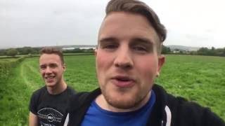 Ben Phillips   Toilet Tour PRANK!!! - I smell like crap and piss
