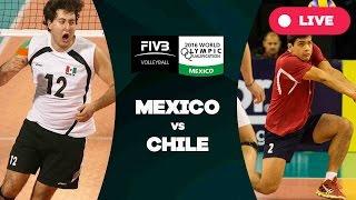 Mexico v Chile - 2016 Men