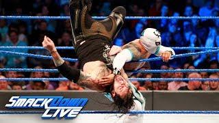 Baron Corbin vs. Sin Cara - United States Championship Match: SmackDown LIVE, Nov. 14, 2017