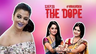Aishwarya Rai Purple Lips - WTF Clips from Indian TV - The Dope - Ep 20