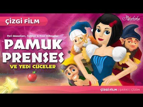 Pamuk Prenses ve Yedi Cüceler Çizgi Film Masal 5 Adisebaba Çizgi Film Masallar