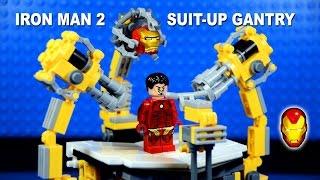 LEGO Iron Man Suit-Up Gantry Machine 1.0 Building Set Marvel Superheroes