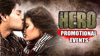 HERO Movie (2015) | Sooraj Pancholi, Athiya Shetty | Uncut Promotional Events
