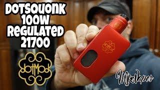 100w Regulated! DotSquonk 21700 By DotMod