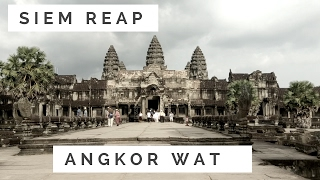 Siem Reap Cambodia Part 2.3 Visiting Angkor Wat & Getting Cambodian Massage