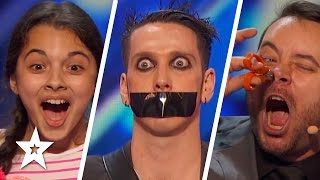 America's Got Talent 2016 Week 1 Auditions | Tape Face, Laura Bretan & More!!