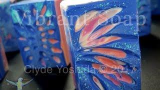 Making Intaglio Cold Process Soap