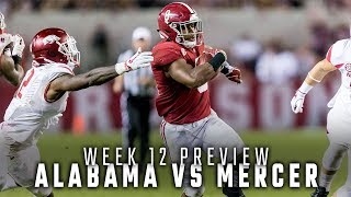 How Alabama is keeping focus on Mercer