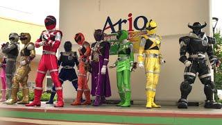 キュウレンジャー10人名乗りリュウコマンダー Uchu Sentai Kyuranger Roll Call