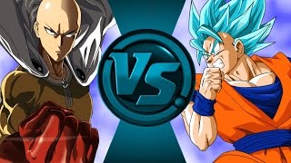 Goku vs Saitama (One Punch Man) Animation by: IOAnimation