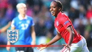 Estonia Women 0-8 England Women (Euro 2017 Qualifying) | Goals & Highlights