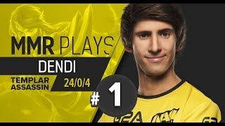 MMR Plays: Dendi on Templar Assassin vol. 1