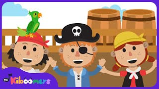 If You Want To Be A Pirate Song | Kids Music | Nursery Rhyme | The Kiboomers