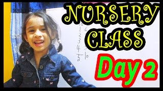 Nursery class teaching | Day 2 | bangla bornomala learning | Toppa's Youtube Channel